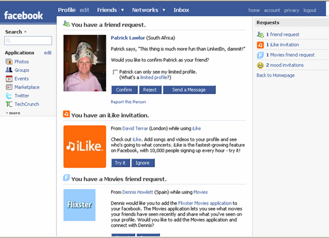 how to read other users messages on facebook